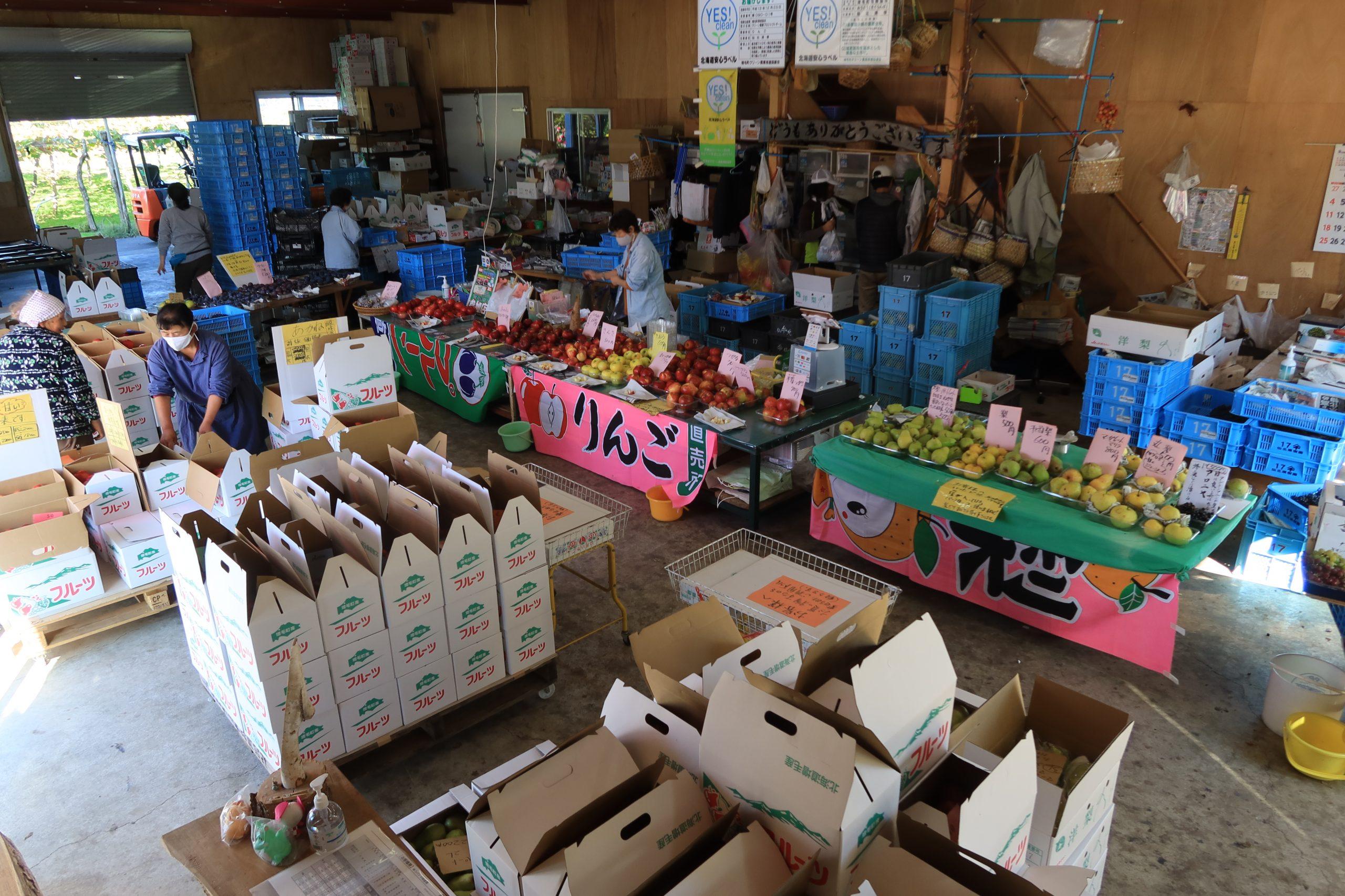 【お店に並ぶ品種が一番多い時期!】最近の直売所の様子